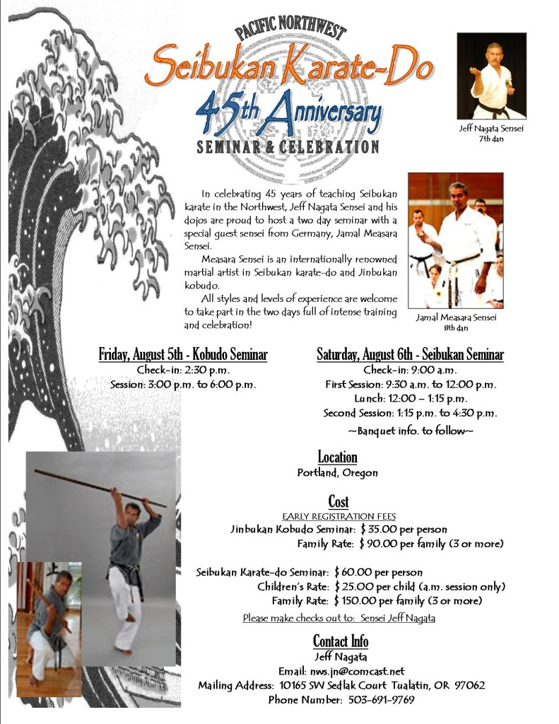 45th Anniversary Flyer